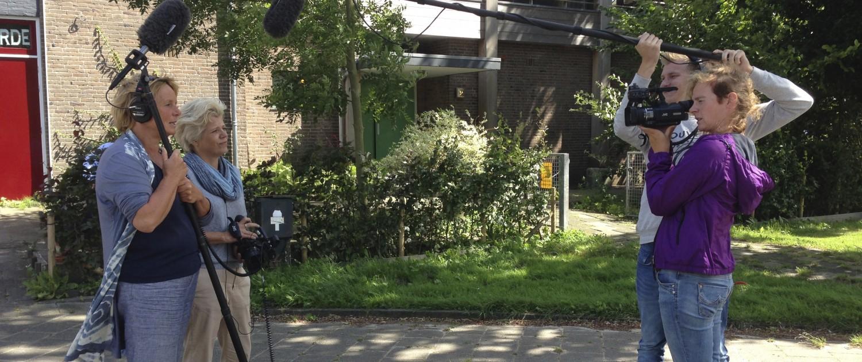 Filmoefening Reportagemaken niveau 1, hengelen, filmen, interviewen, kaderen